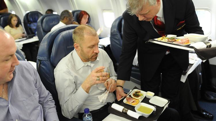 Delta Air Lines food