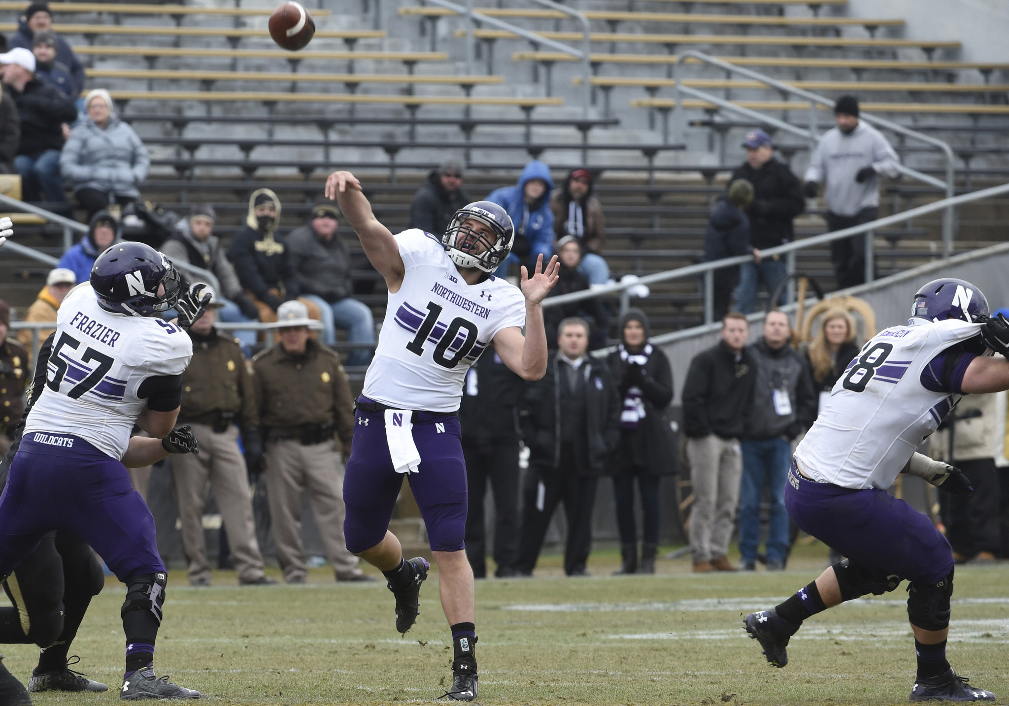 Northwestern s zack oliver finally gets his opportunity and he s leaving nothing to chance chicago tribune