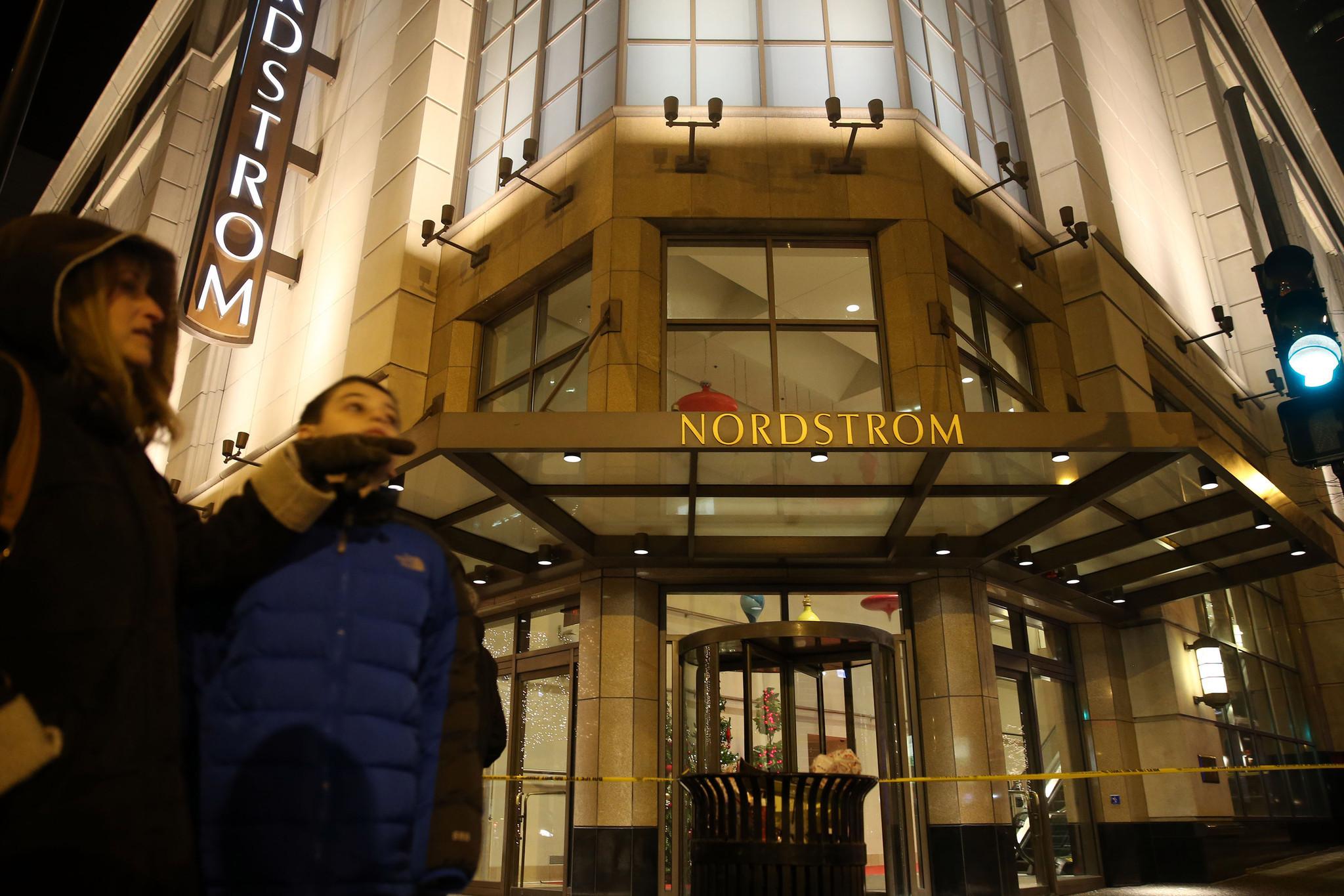 Gold Strappy Sandals: Nordstrom Michigan Avenue