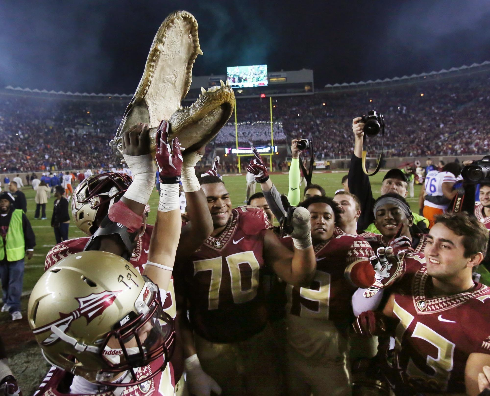 Fsu Savors Rivalry Back To Back Undefeated Regular Season