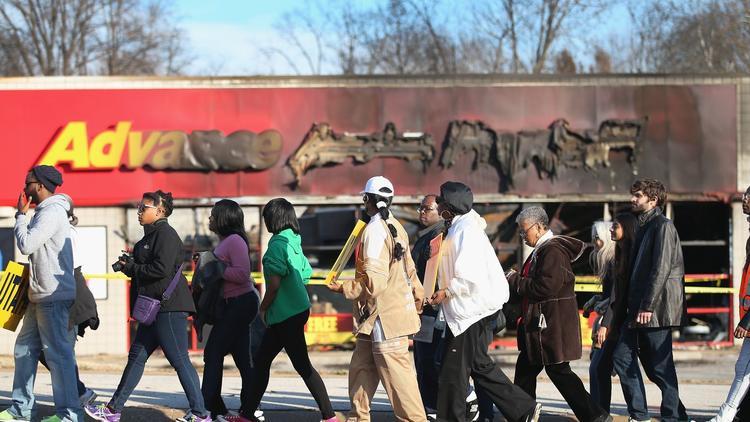 March from Ferguson to Jefferson City