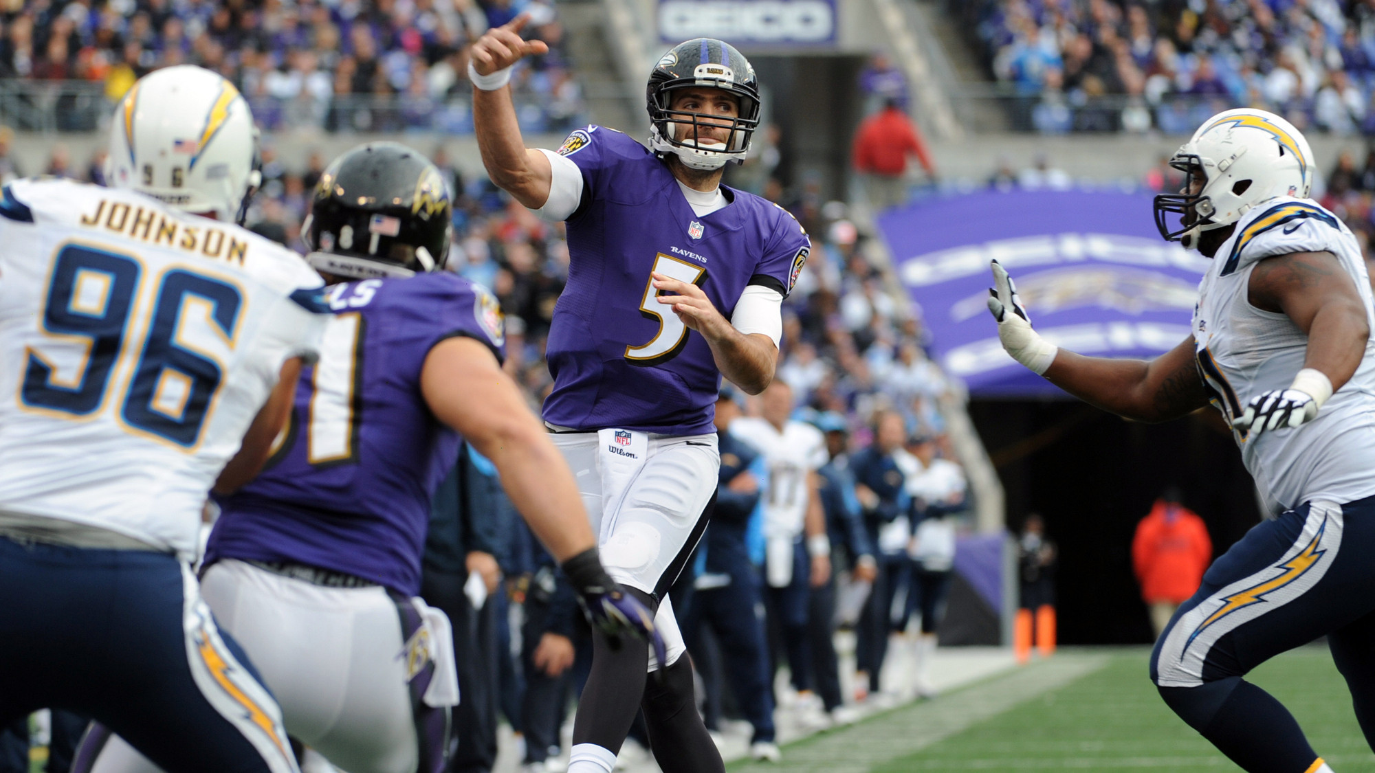 Mike Preston Grades The Ravens 34 33 Loss To The Chargers