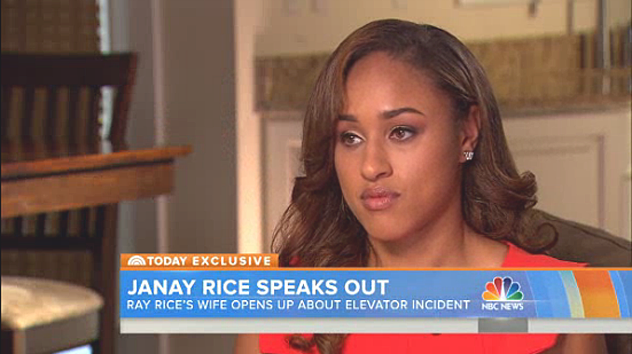 NBC Today Show Interview With Janay Rice Capital Gazette