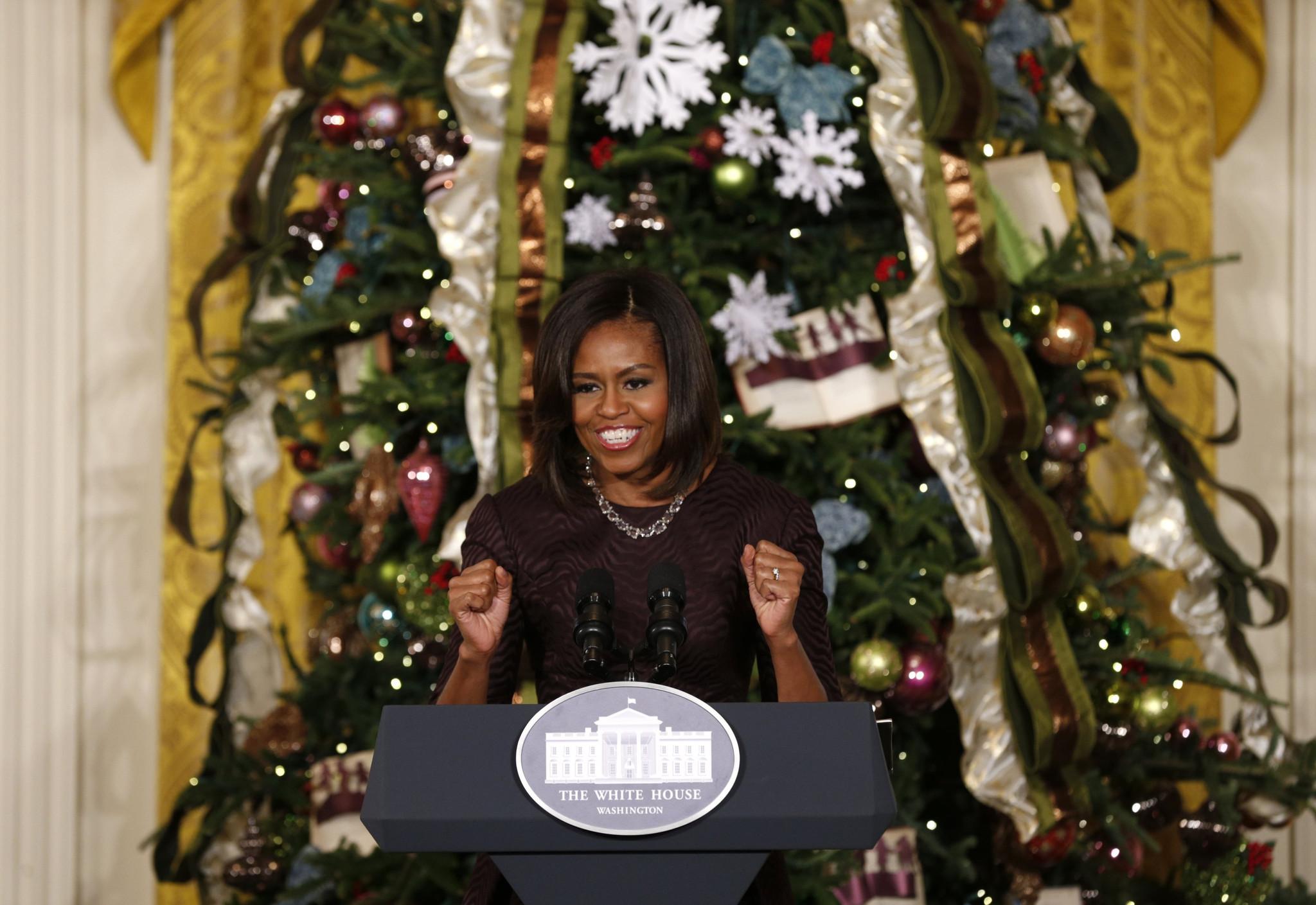 Chicagoans help Obamas craft \'Winter Wonderland\' in White House ...