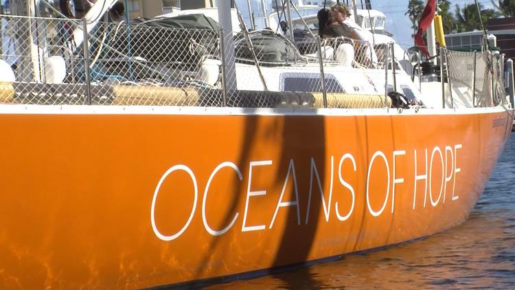 Oceans of Hope arrives