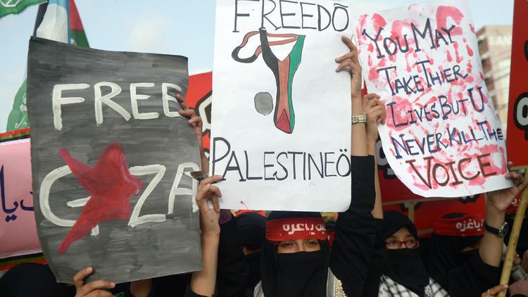 PAKISTAN-ISRAEL-PALESTINIANS-GAZA-CONFLICT
