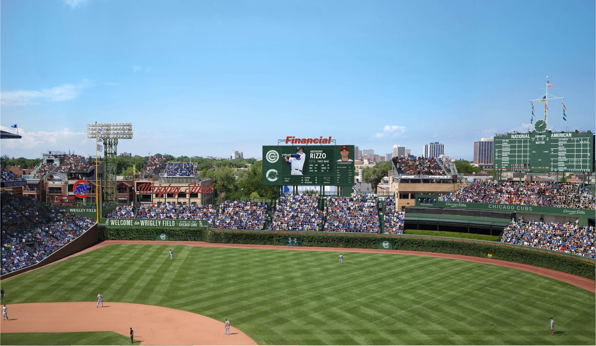 wrigley field u0027s renovation is all in the details chicago tribune