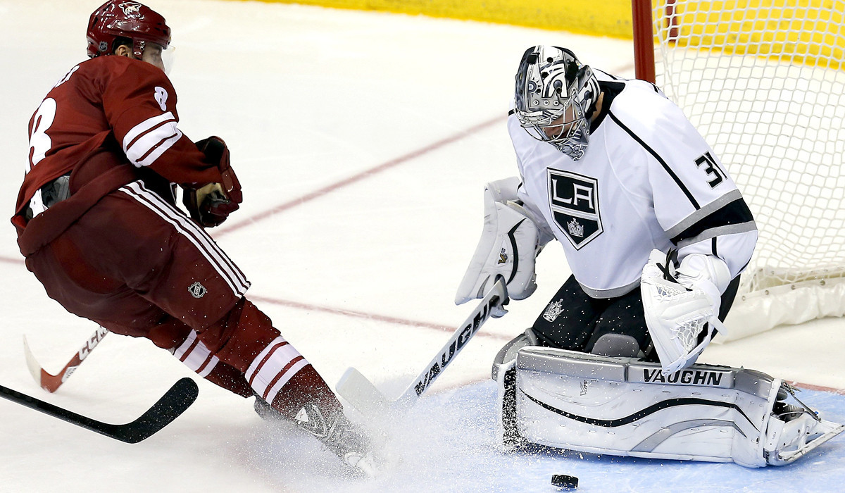 Martin Jones Posts Second Straight Shutout As Kings Beat Arizona, 4-0