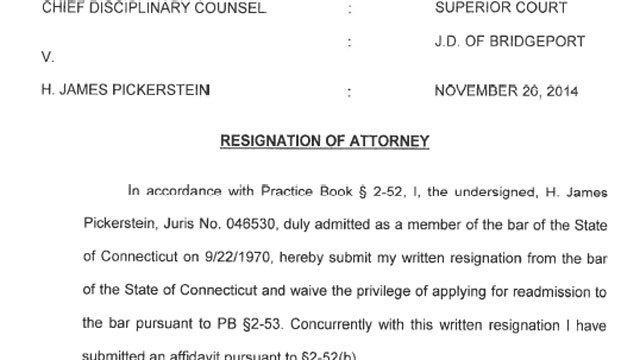 pdf james pickerstein s resignation letter hartford courant
