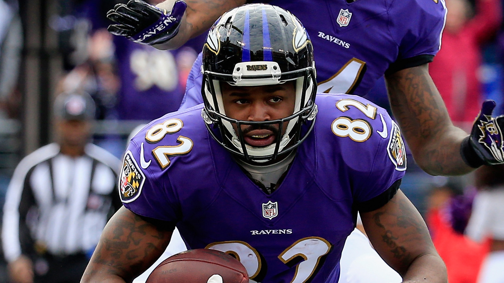 Torrey Smith And Steve Smith Hobbled Torrey Smith Used