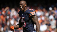 Former Bears wide receiver Brandon Marshall