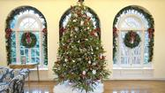 Maryland governor's mansion decking the halls for visitors