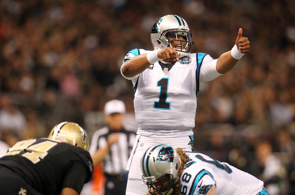 Panthers qb cam newton suffers two back fractures in car for Mercedes benz of annapolis service coupons