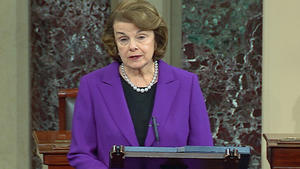 Dianne Feinstein defends the torture report