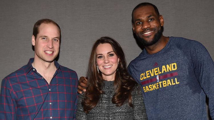 Prince William, Duchess of Cambridge Catherine, LeBron James