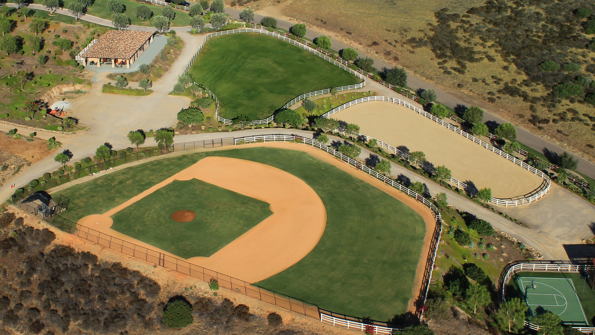 poway home for sale features full sized baseball diamond la times