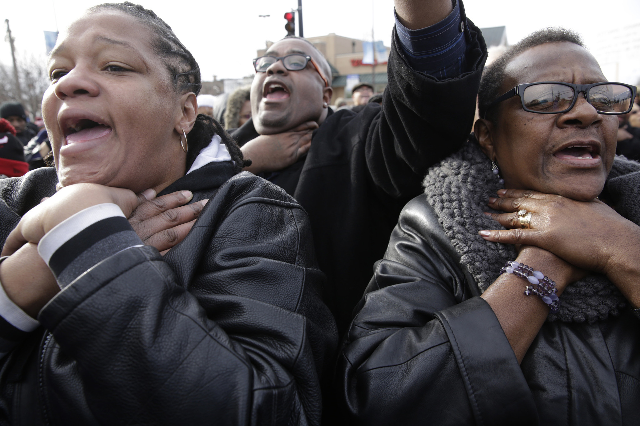 Chicago pastors lead protests over deaths by police in Ferguson, NYC