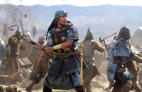 """<i> *1/2 (out of four)</i><br> <b>What we said:</b> """"Asked how he felt about the director of 'Gladiator' and 'Prometheus' adapting his story, Moses reportedly said, 'I'm thrilled. I always hoped my experience could come to the big screen with 3-D CGI alligators with an Australian as Egyptian ruler Ramses, while I'm played by an English man named Christian.'"""" <i>-- Matt Pais </i><br><br><a target=""""_blank"""" href=""""http://www.redeyechicago.com/entertainment/movies/redeye-exodus-review-20141210,0,3964537.column""""<b>Click here for our full review</a>"""