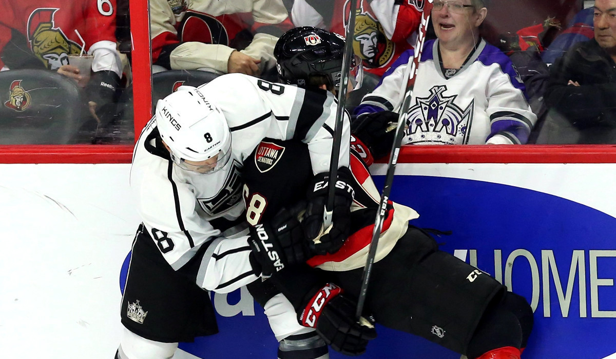 Kings Find Motivation, Beat Ottawa Senators, 5-3
