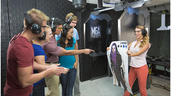 Machine Gun America is an attraction opening December 2014 in Kissimmee.