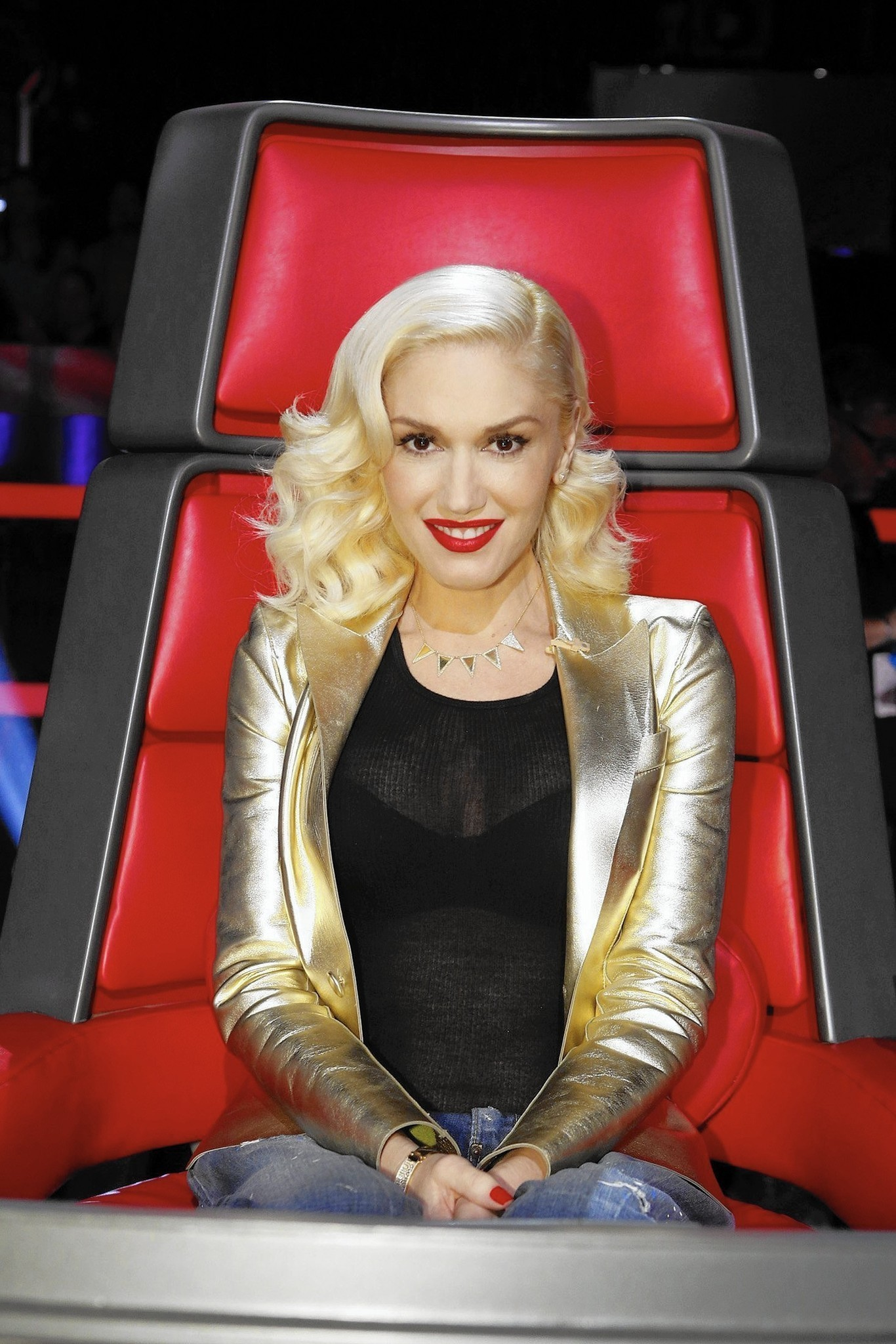 Meet Gwen Stefani's 'The Voice' fashion styling stars ...