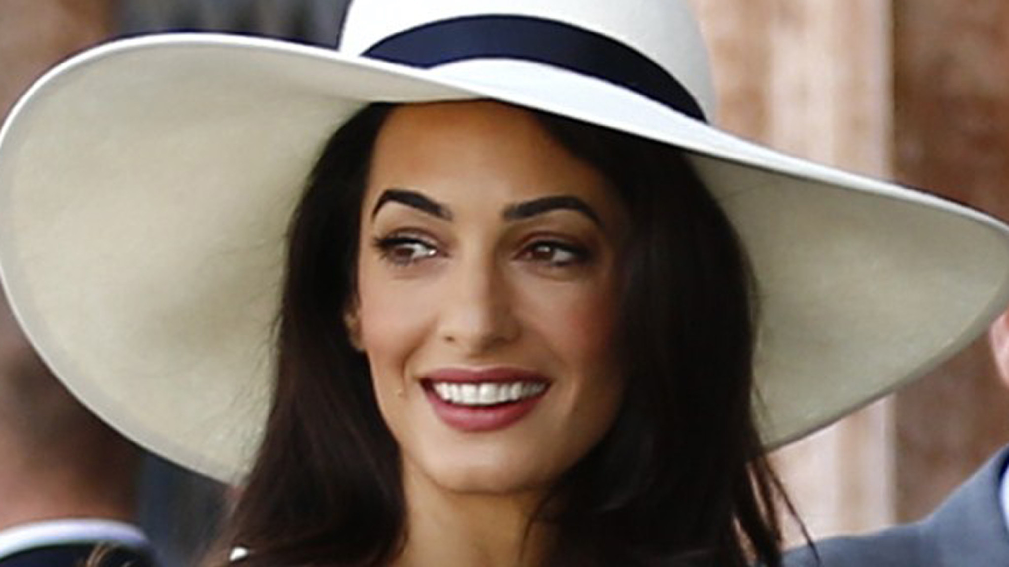 amal alamuddin is mrs clooney barbara walters finds that
