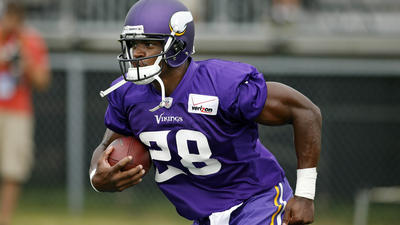 Adrian Peterson in the Olympics? Not a chance
