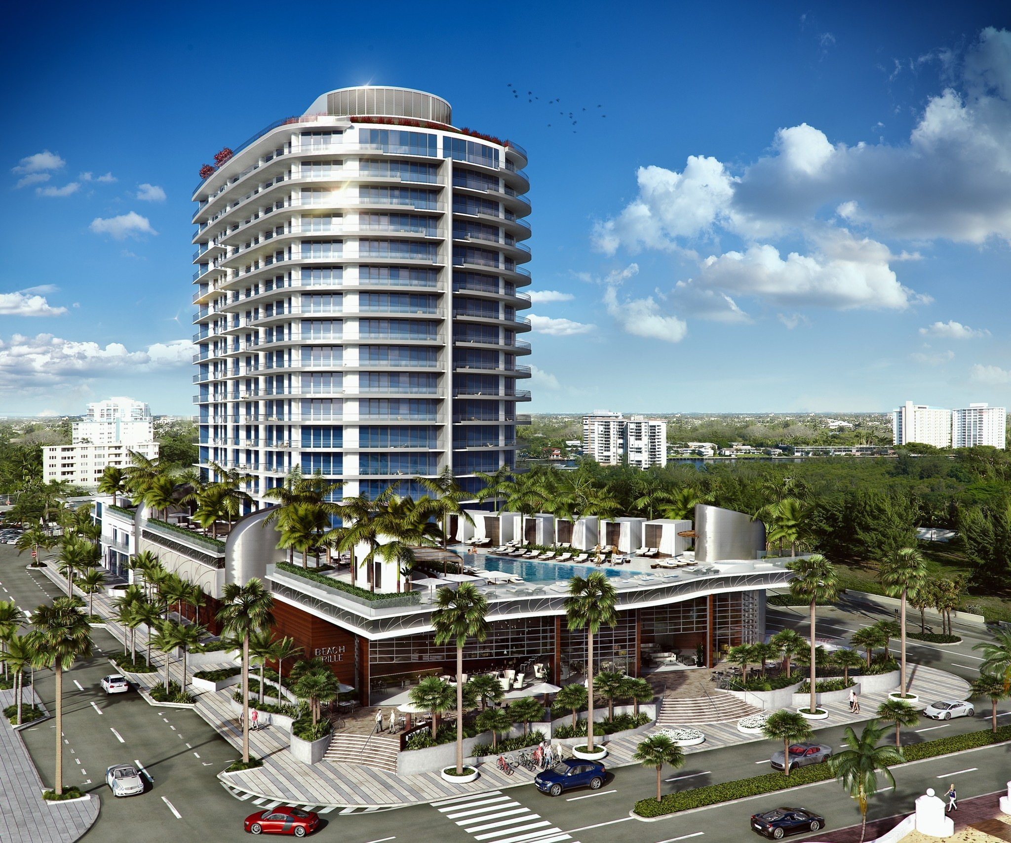 Paramount Luxury Condo Project Opening In 2016 Sun Sentinel