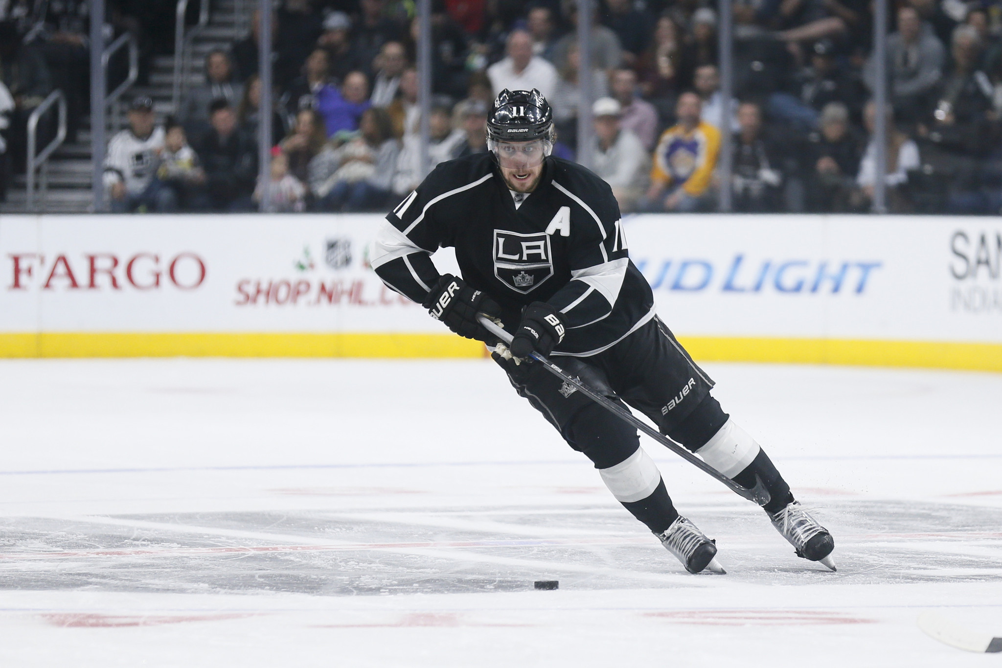 Kings Center Anze Kopitar Trying To Regain His Scoring Touch