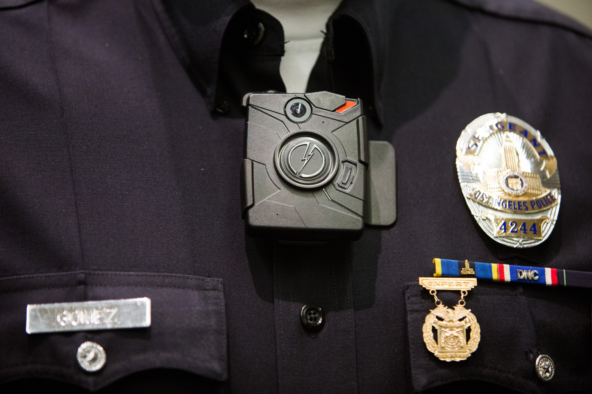 L.A. will buy 7,000 body cameras for police officers - LA Times