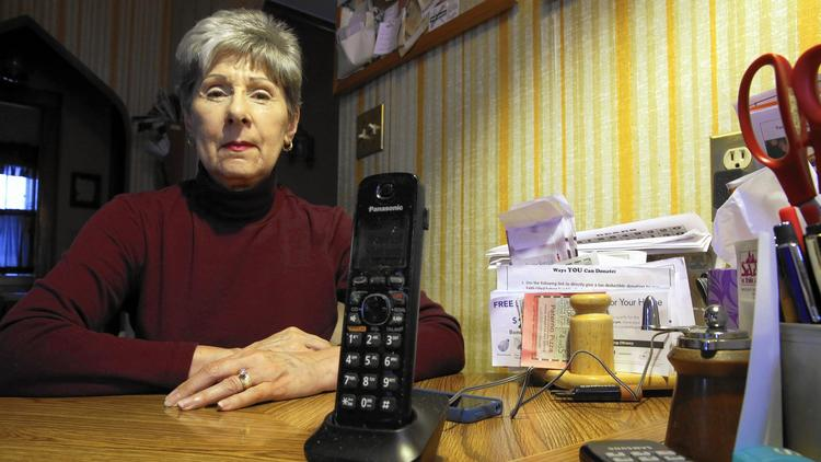 Landline telephone service
