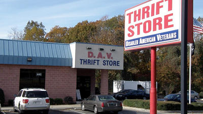 Treasures abound at D.A.V. Thrift Store in Williamsburg