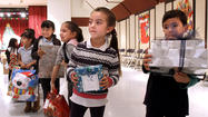 Photo Gallery: Cerritos Elementary students get toys for the holidays