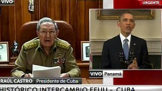 Raul Castro, President Obama
