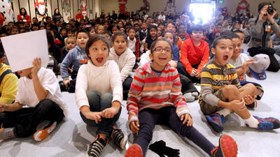 Compassionate Cerritos Elementary students rewarded with gifts