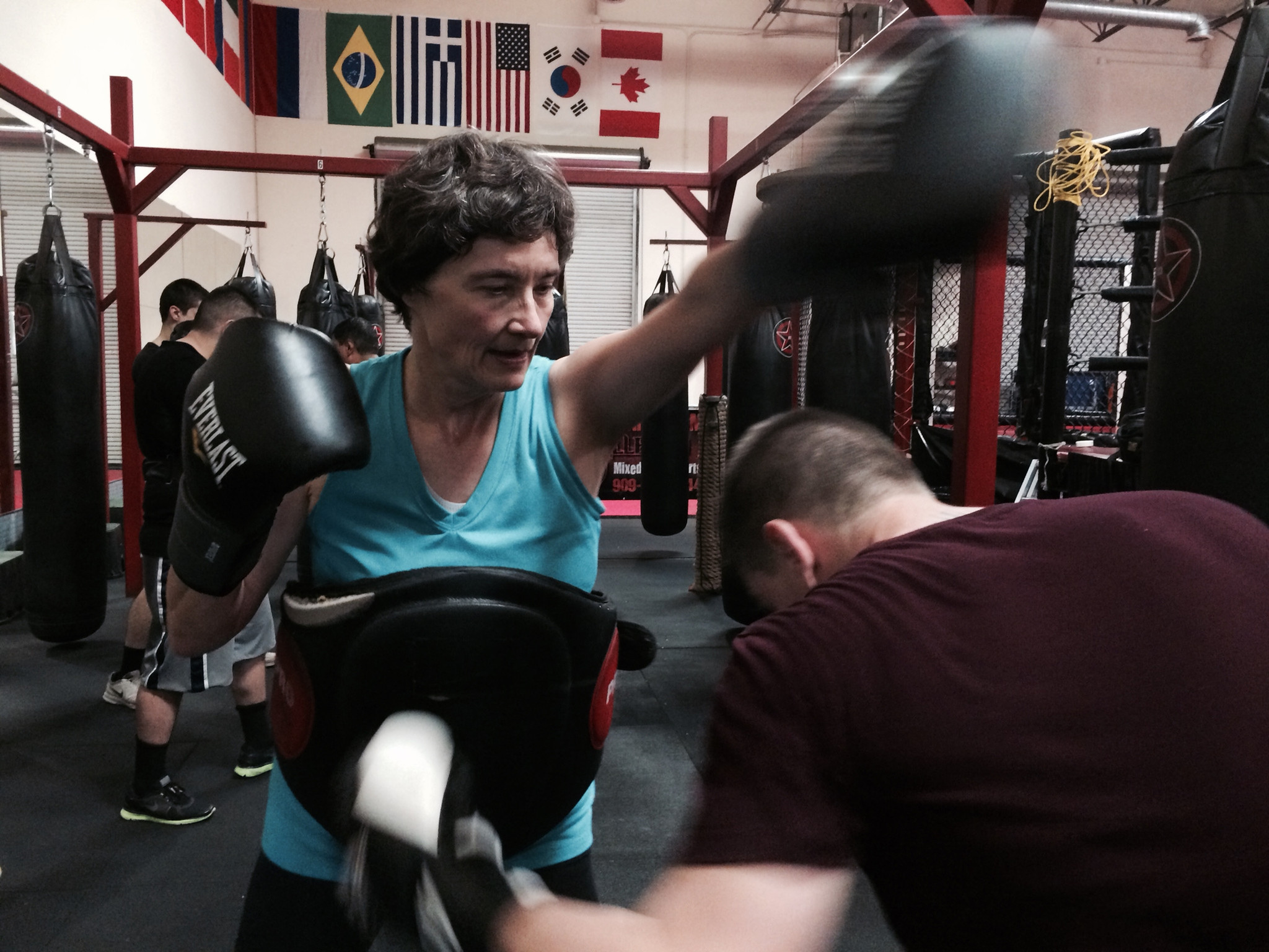 This minister can preach virtues of boxing — and practice them