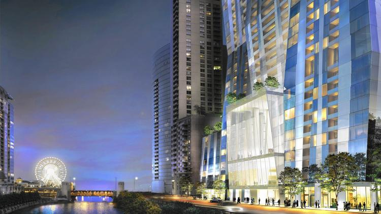A look at plans for Chinese developer's massive skyscraper on Chicago River – Chicago Tribune