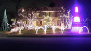 Musical holiday light show back in Cockeysville