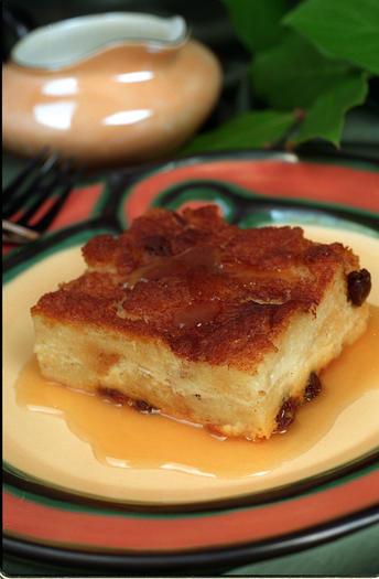 Handlebars Food & Saloon's whiskey bread pudding