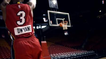 Miami Heat, Dwyane Wade in commerical for NBA Christmas games - Sun ...