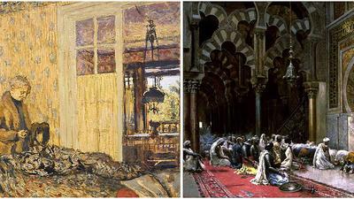 Art Fart: Edwin Lord Weeks, Edouard Vuillard, and making art from memory