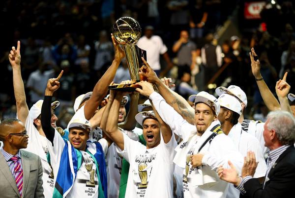 Spurs win NBA title
