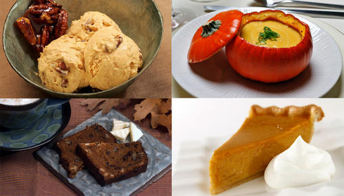 Pumpkin bread, pumpkin pancakes, pumpkin pie ... we could go on and on. We pulled together some of our favorite pumpkin recipes to help you get ready for fall:
