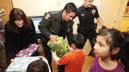 Photo Gallery: Glendale Police Department's Cops for Kids delivers gifts to 28 Glendale families