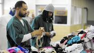 Inmates help out breast cancer fundraiser by washing bras