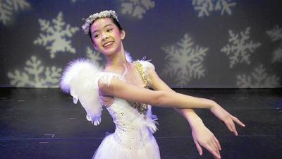 Dancers add the frosting to ballet premiere