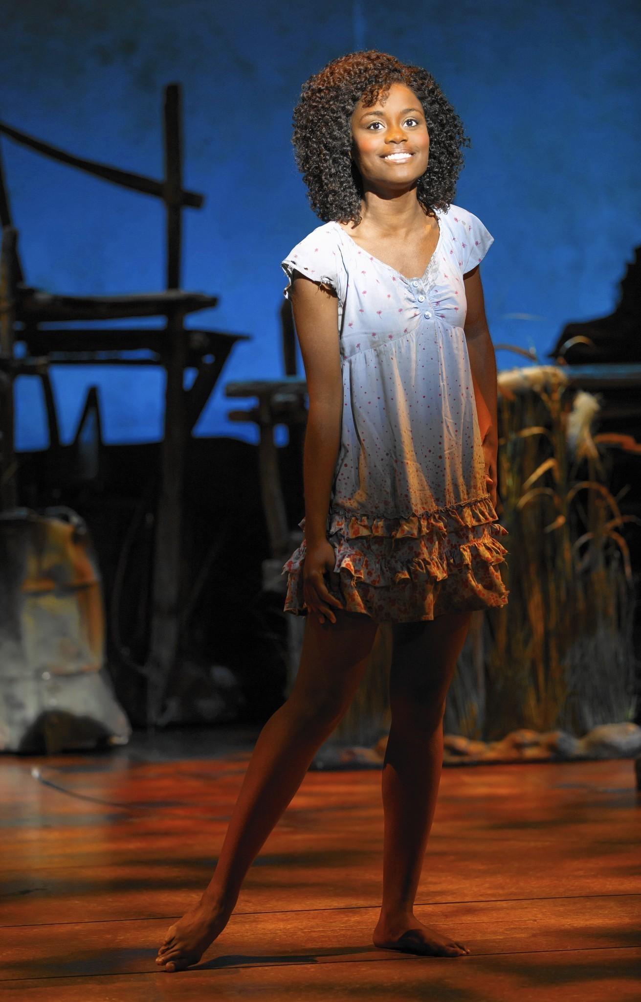 denee benton stars in book of mormon in orlando orlando sentinel
