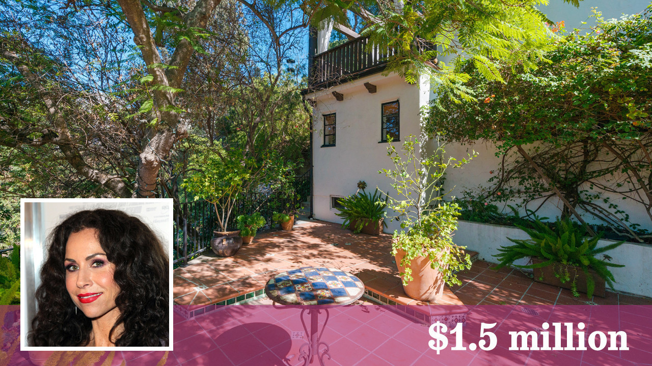 Minnie driver pulls up stakes in hollywood hills la times for Hollywood home for sale