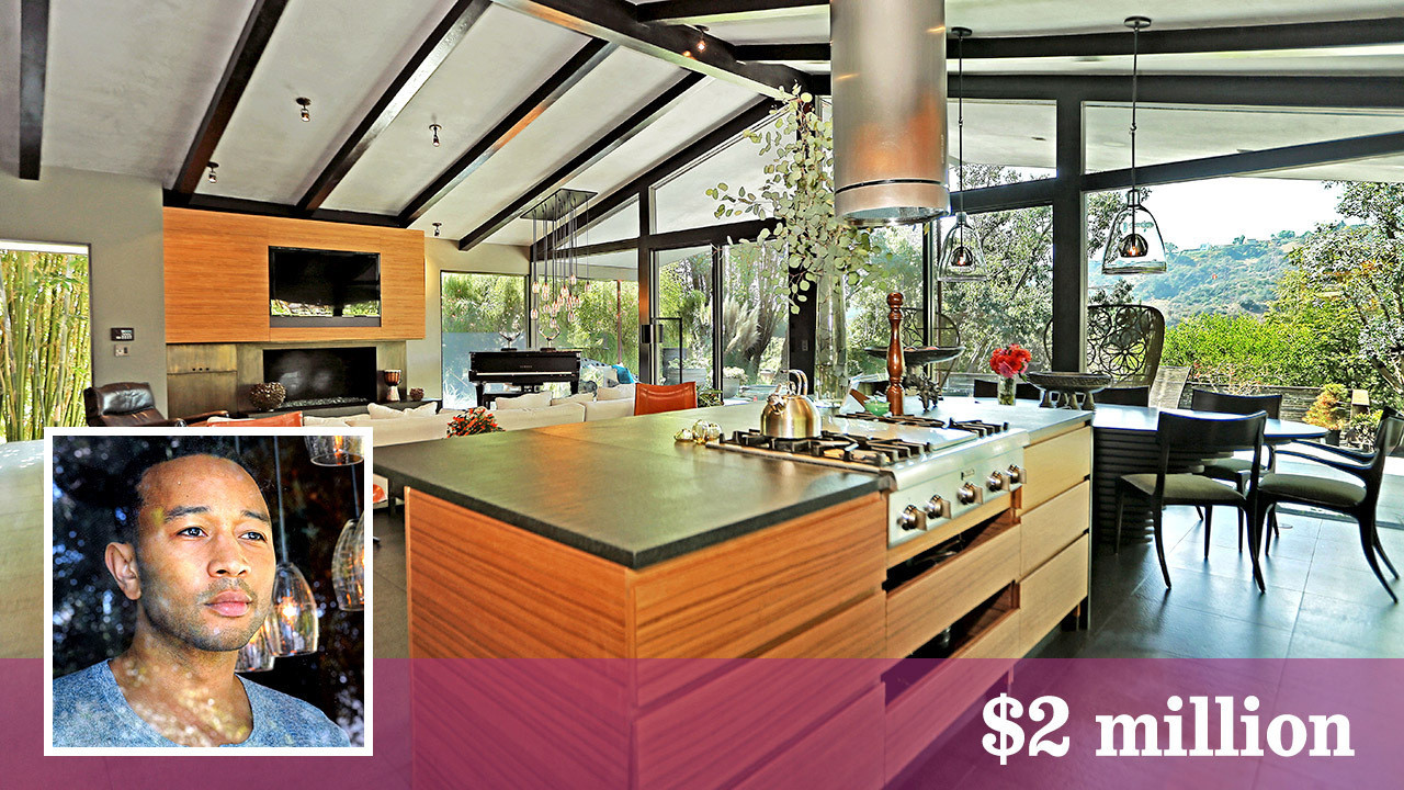 John Legend Sells His Laid Back Home In Hollywood Hills