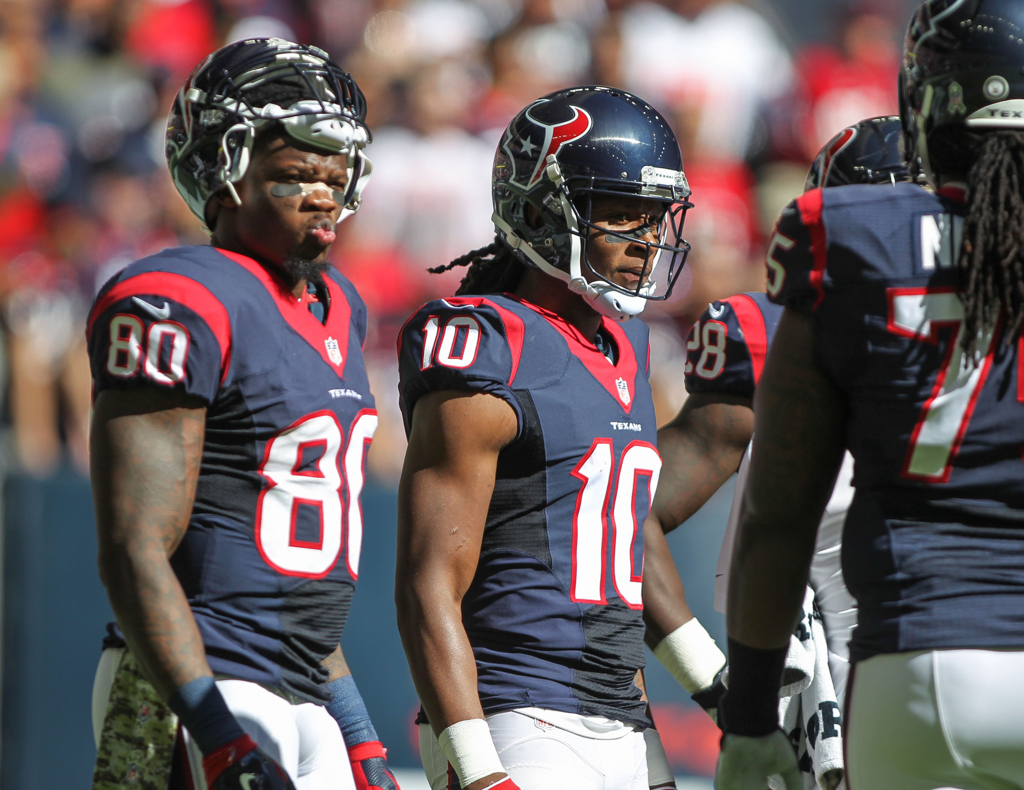 Baltimore Ravens to square off with Houston Texans talented